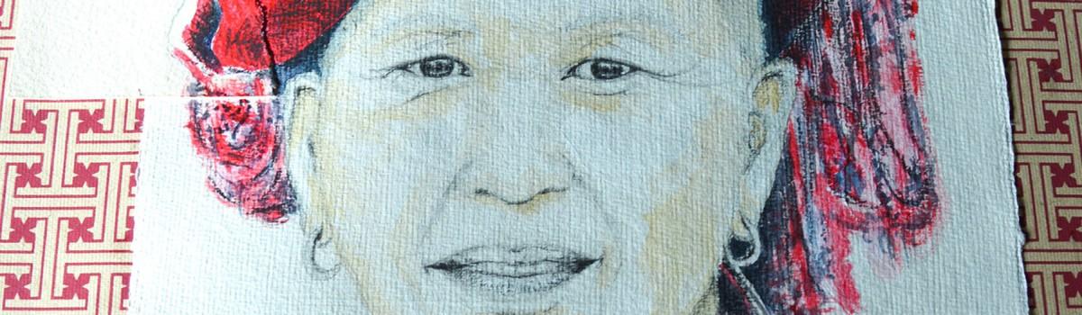 Portrait de femme – Tribu RedDzao